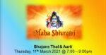 Maha Shivratri Celebrations 2021 (Virtual)